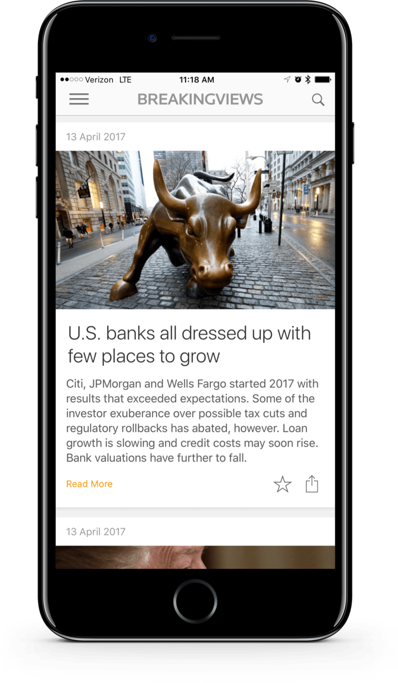 Breakingviews App  The best way to get the views important