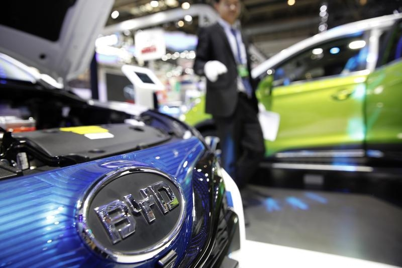 Samsung Electronics seeks stake in China automaker BYD, electric car chips boost
