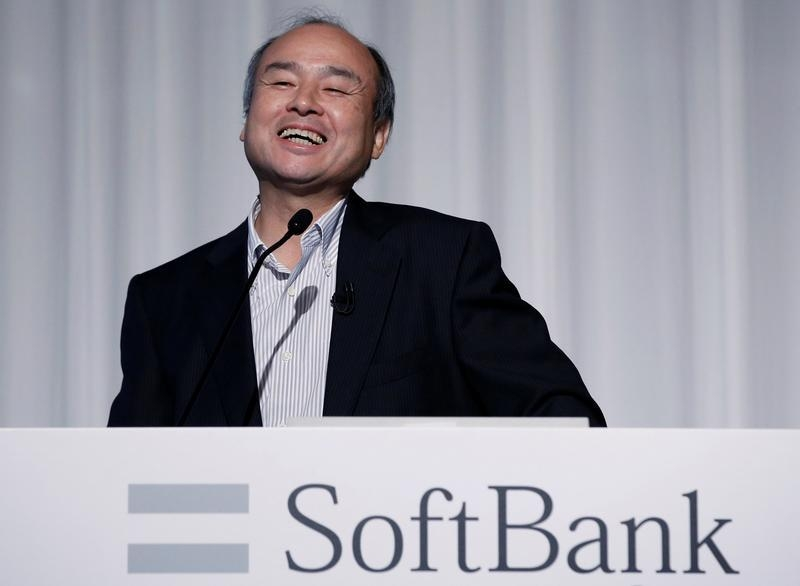 Softbank chief signals interest in Uber and Lyft