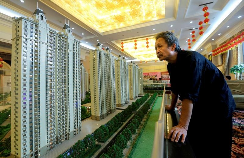 Chinese second-tier city prices continued to soar in August