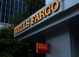 A Wells Fargo Bank is shown in Charlotte, North Carolina, U.S., September 26, 2016.
