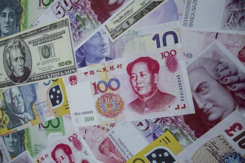 China's forex reserves drop to lowest since 2011