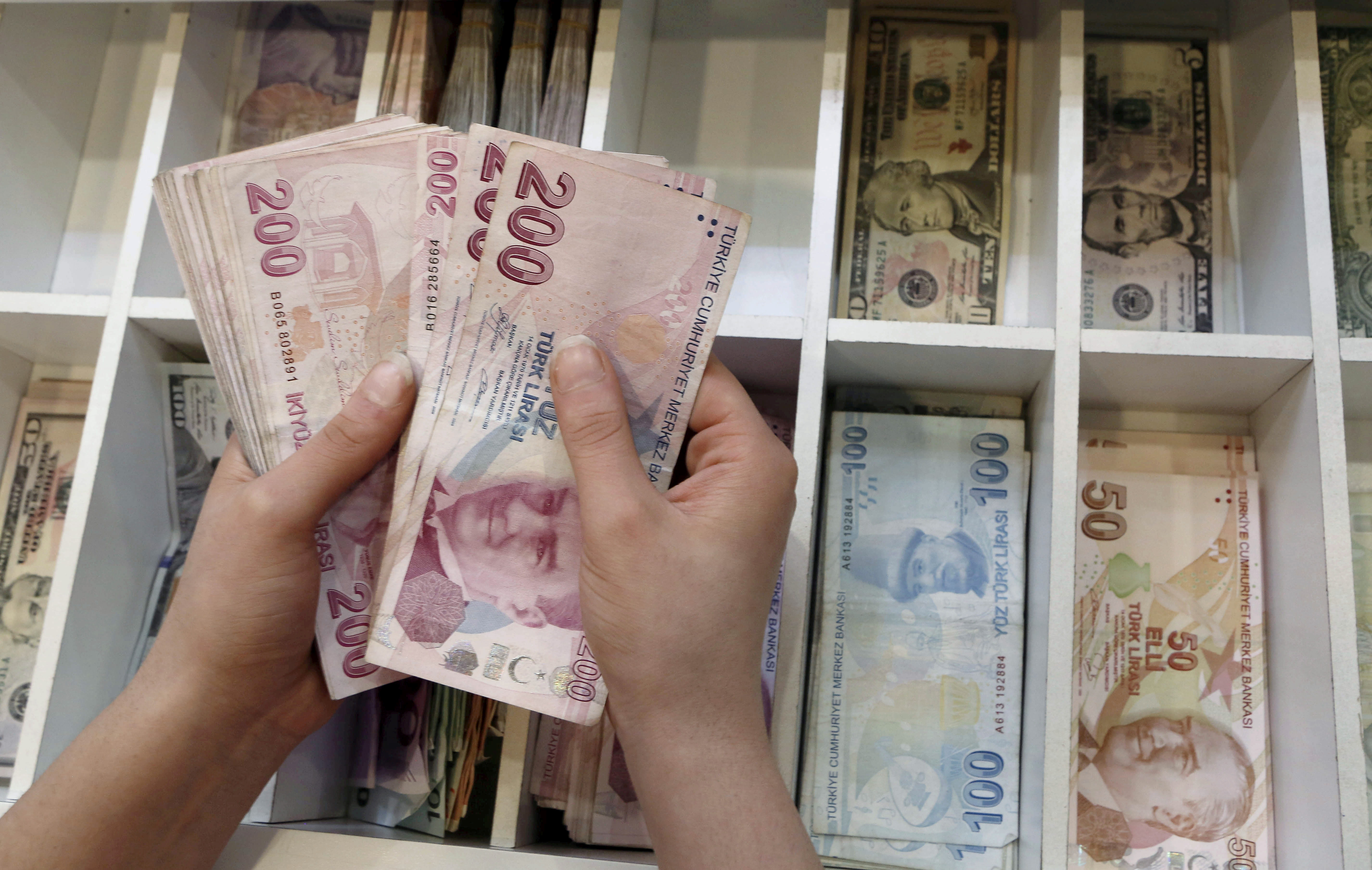 Cutting Turkish lira supply can achieve only so much, Erdogan aide says