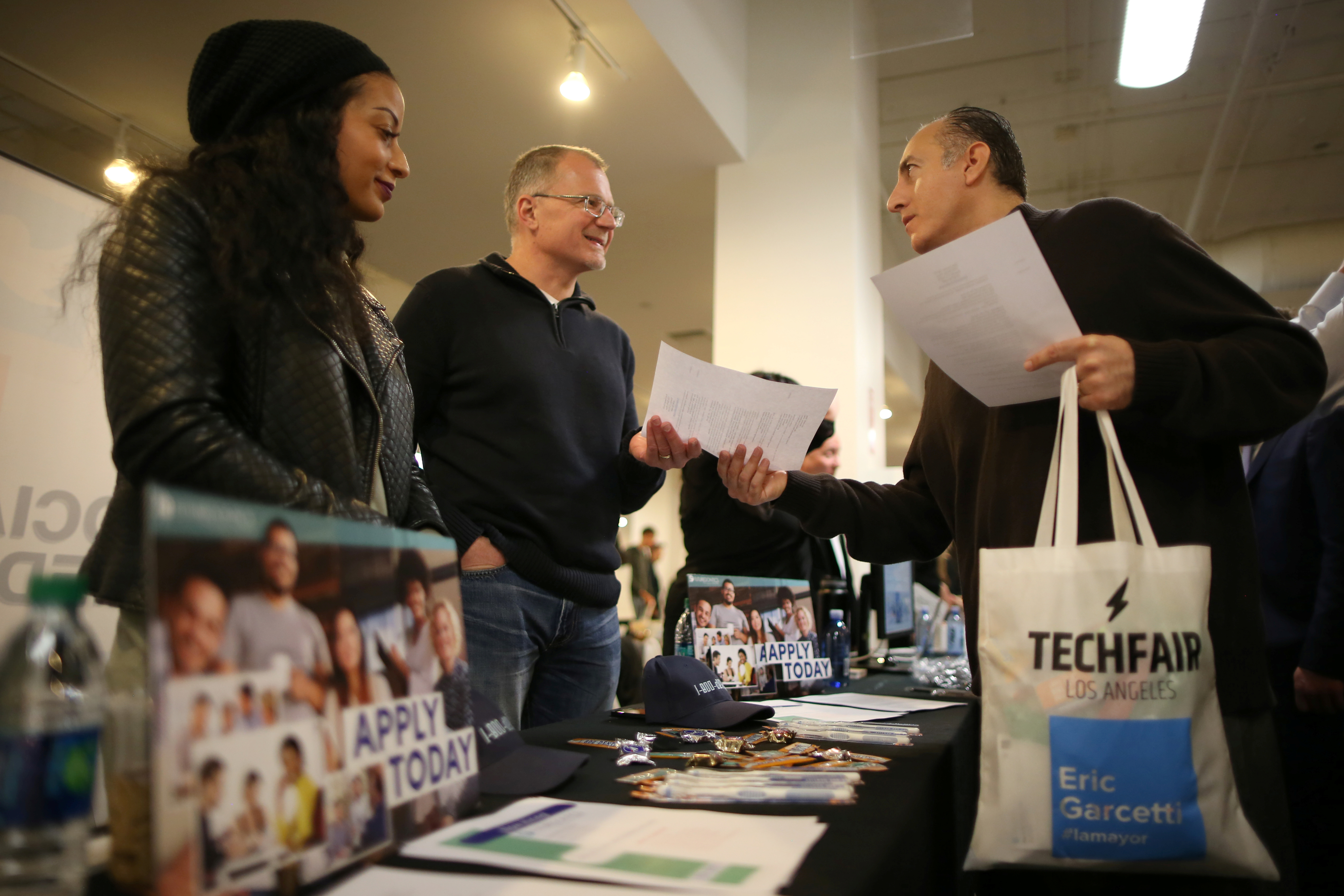 US adds just 98K jobs; unemployment falls to a low 4.5 pct