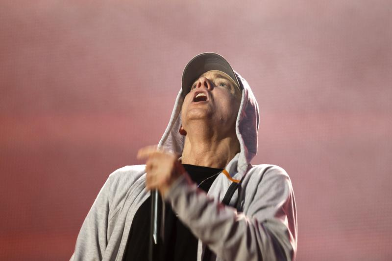 Eminem producers to sell shares in rapper's music