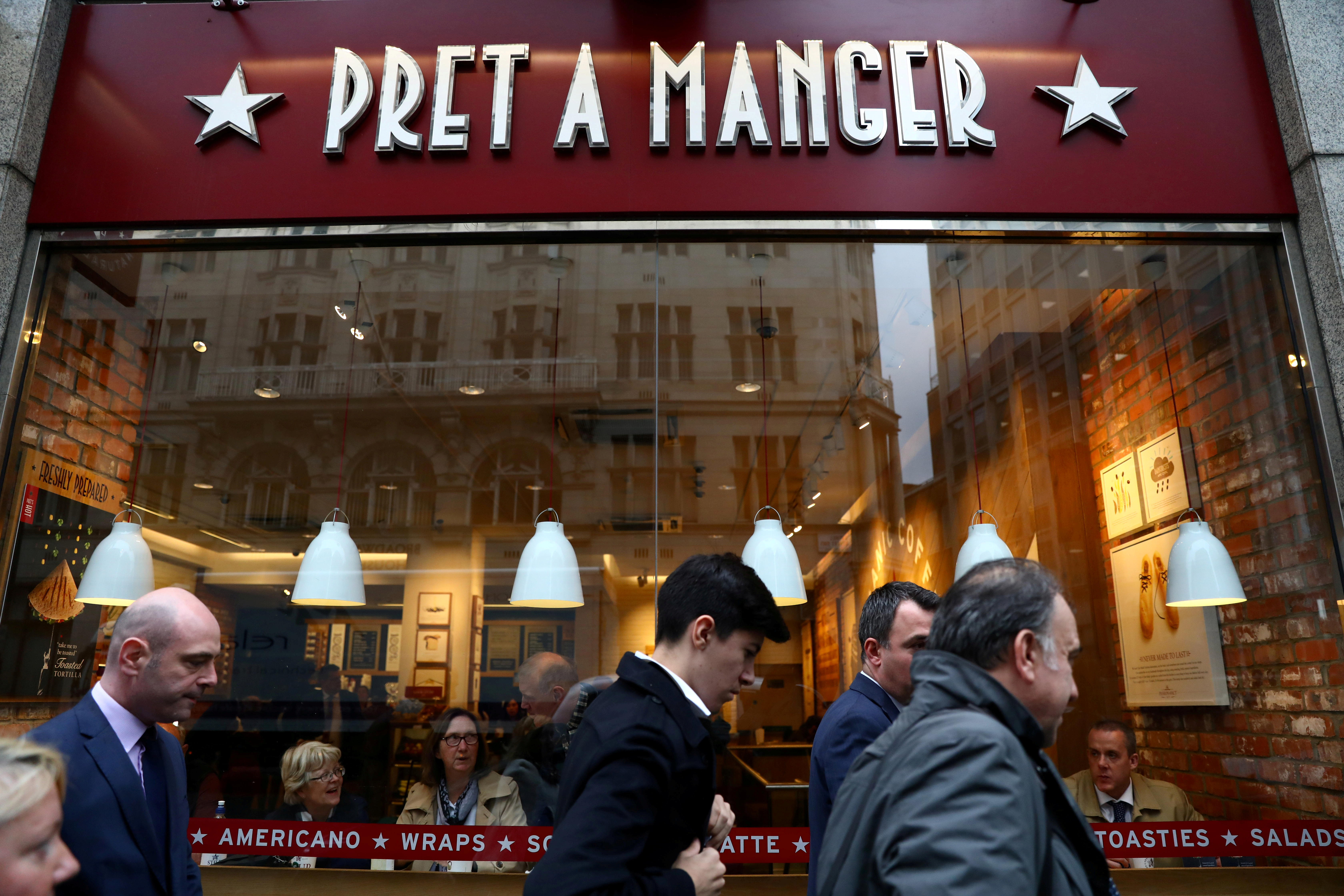 Pret a manger us ipo
