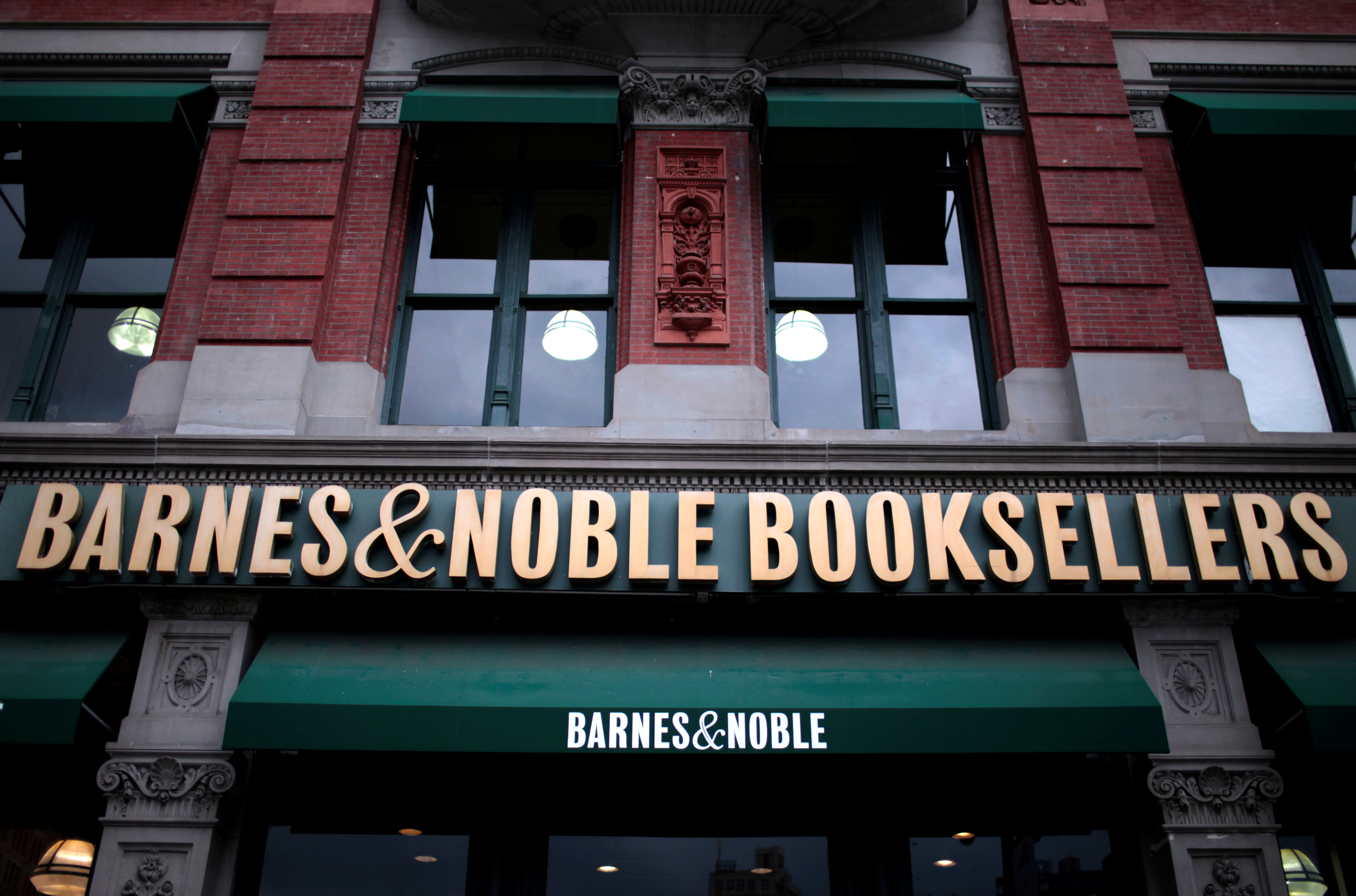 Barnes & Noble surges on takeover rumors
