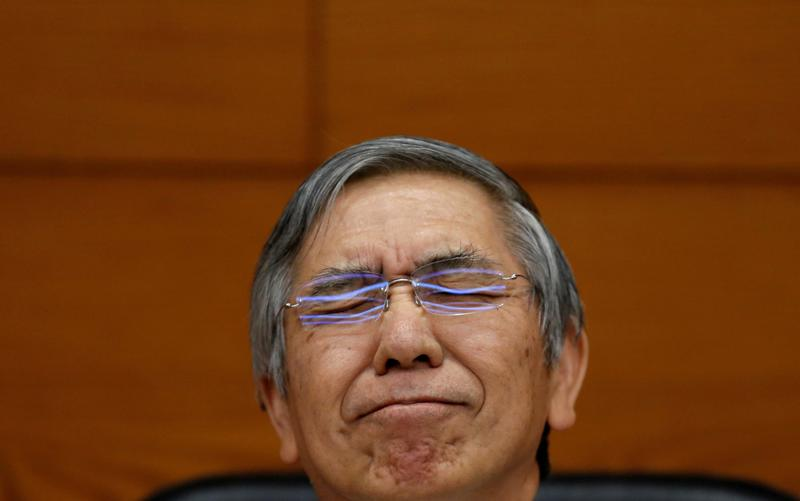 Image result for images of the head of the bank of japan