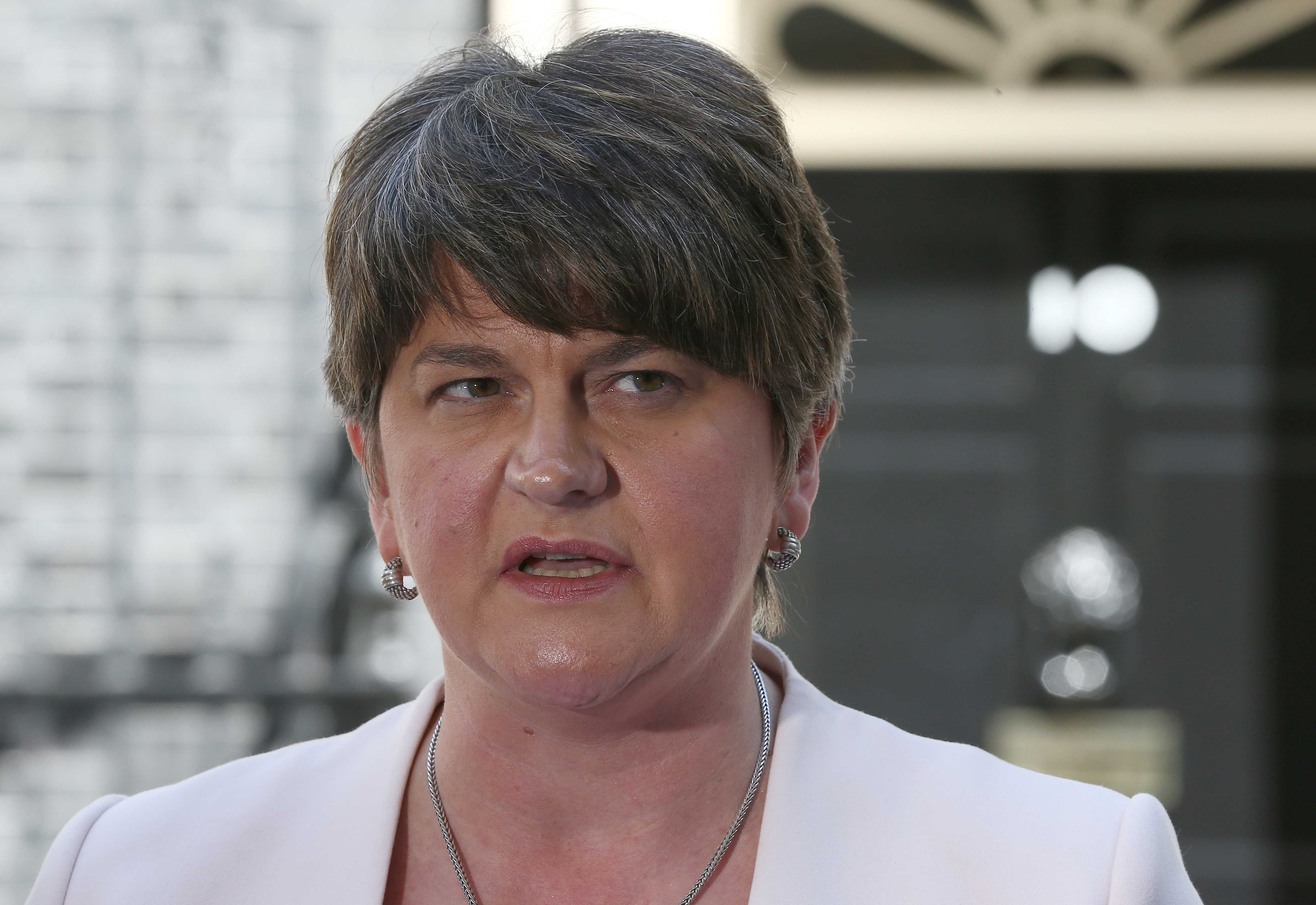 DUP leader says just as firm as Irish government on Brexit