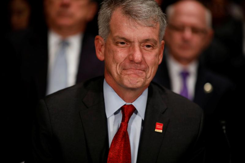 Wells Fargo CEO creates rod for own back