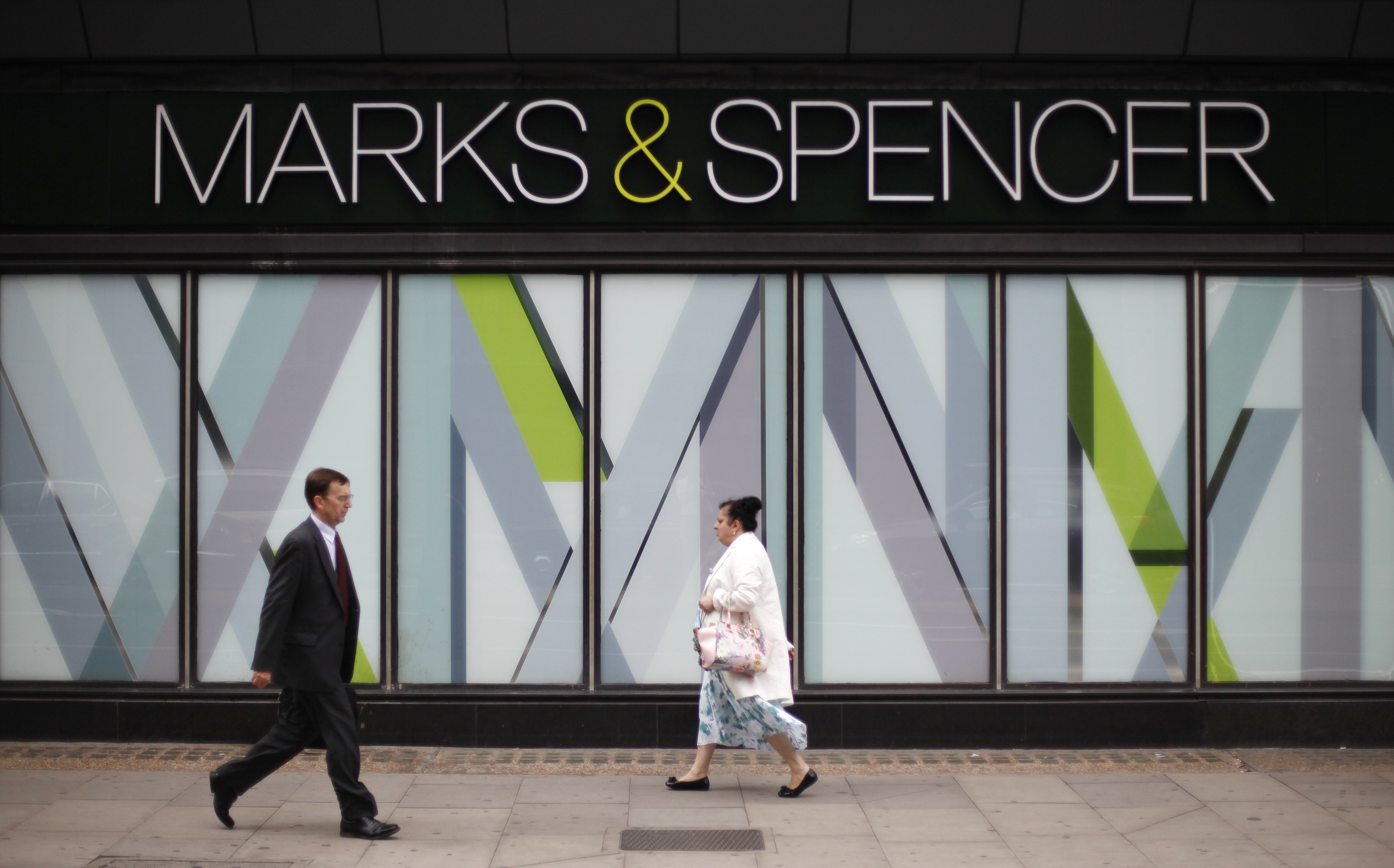 Festive sales fall for Marks and Spencer
