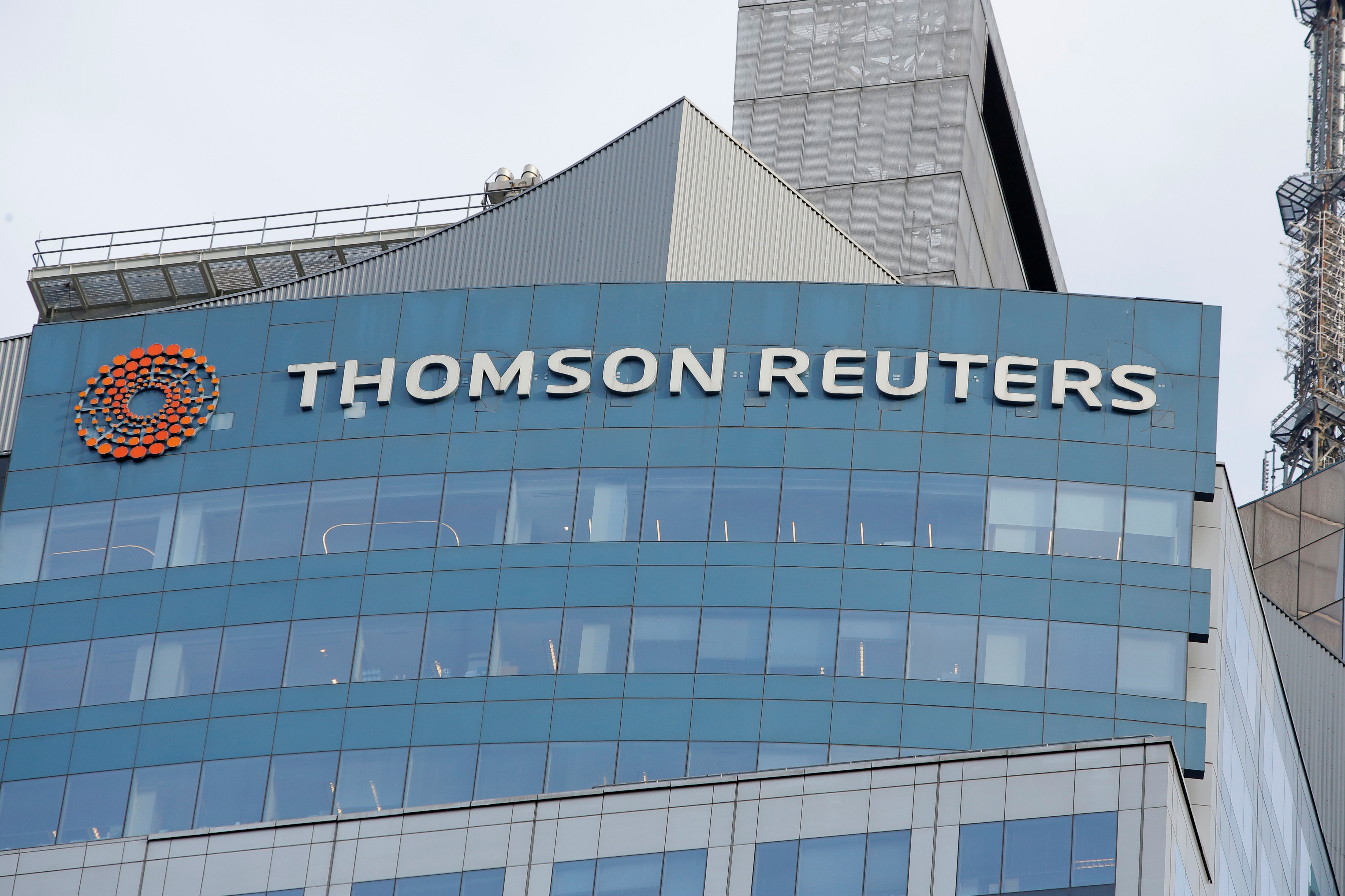 Thomson Reuters confirms talks to sell stake in financial unit to Blackstone