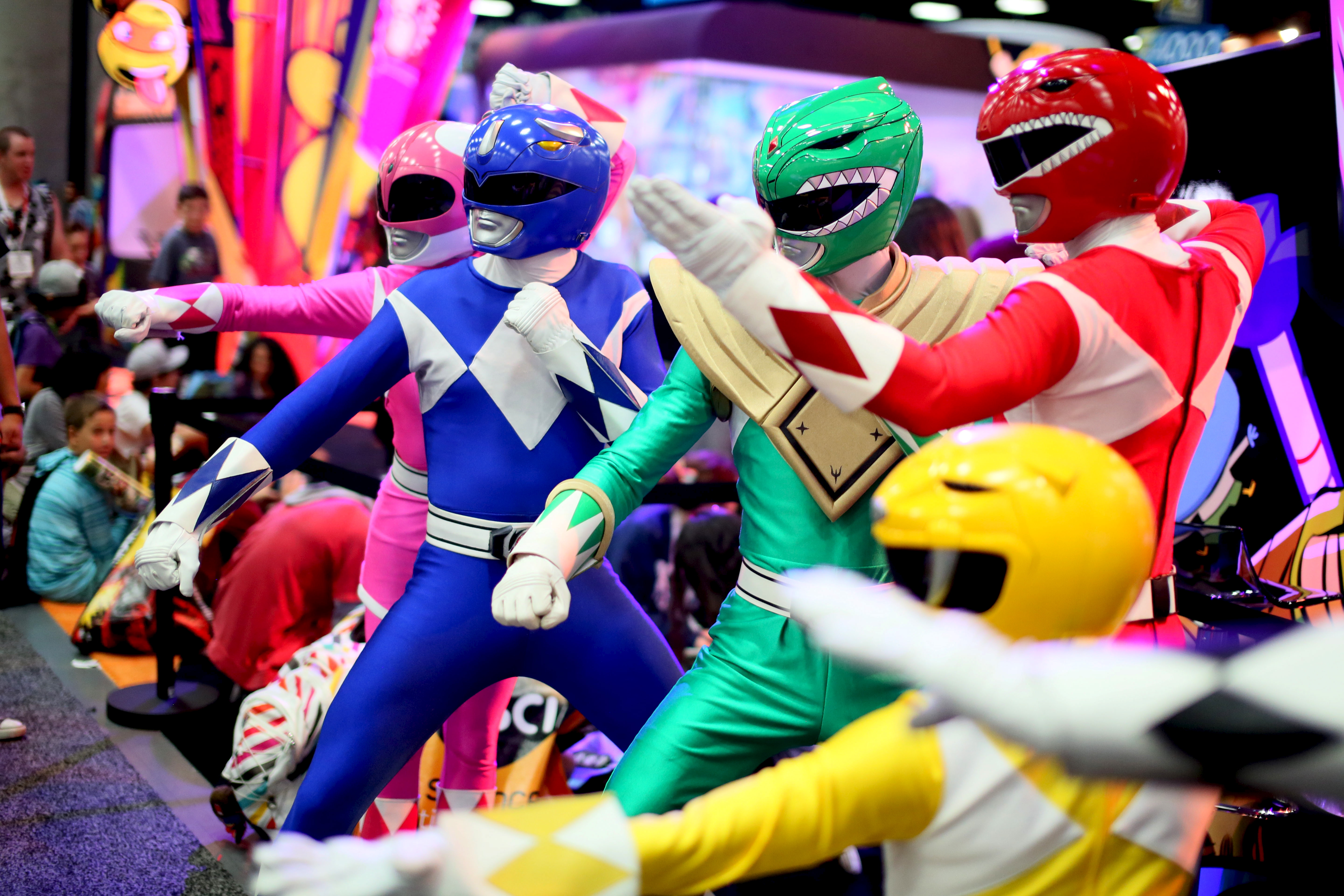 Power Rangers alone won't win toy war for Hasbro