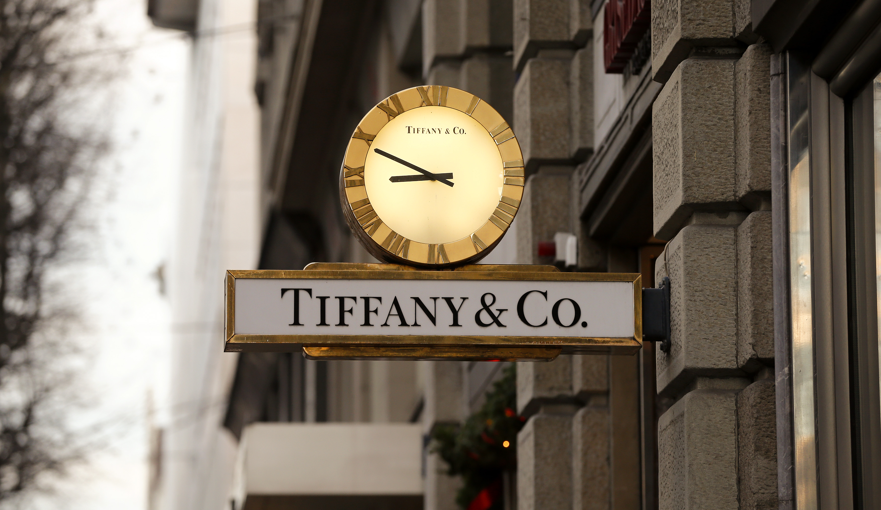 Tiffany's same-store sales beat estimates