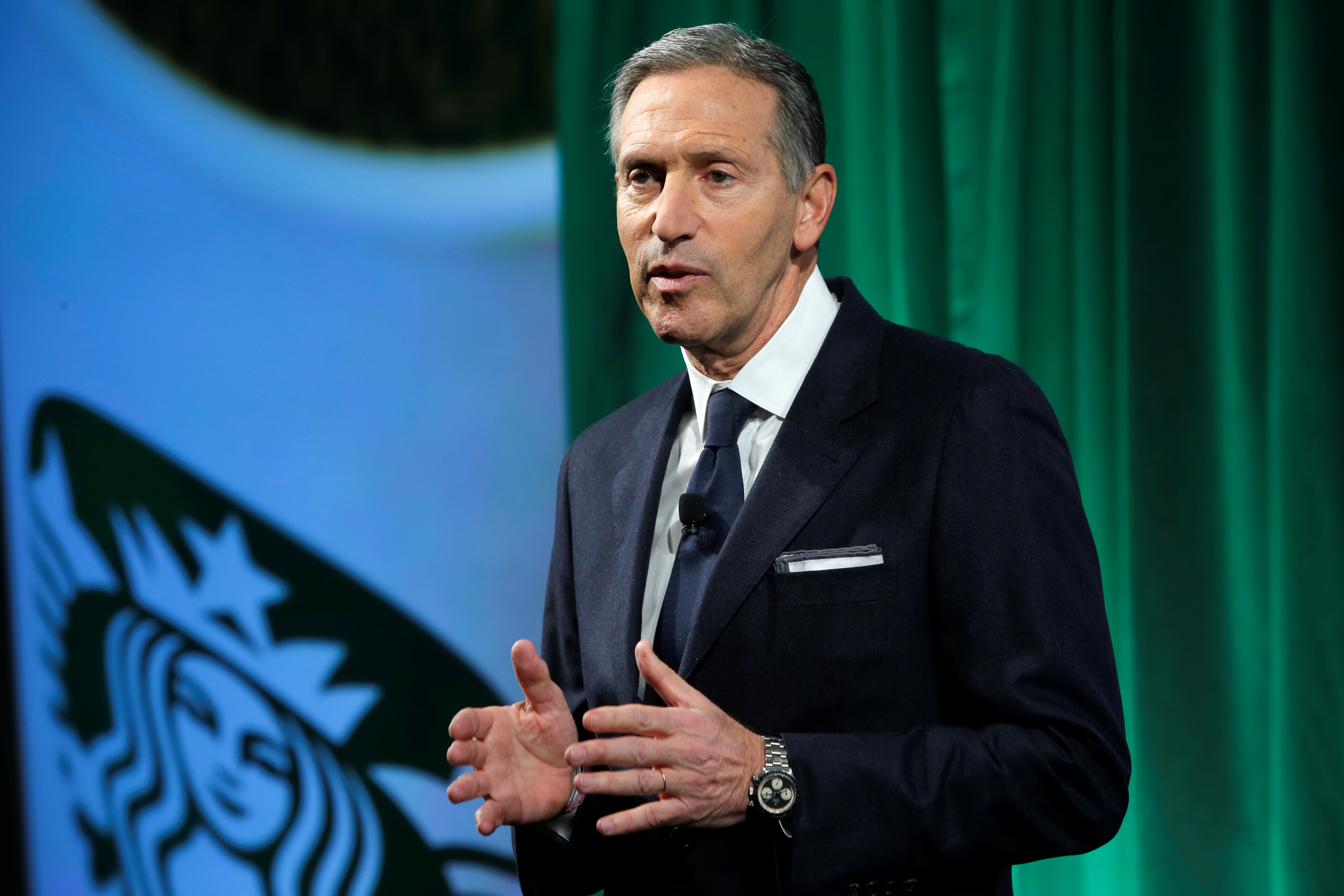 Possible presidential bid by ex-Starbucks CEO has some Democrats fuming