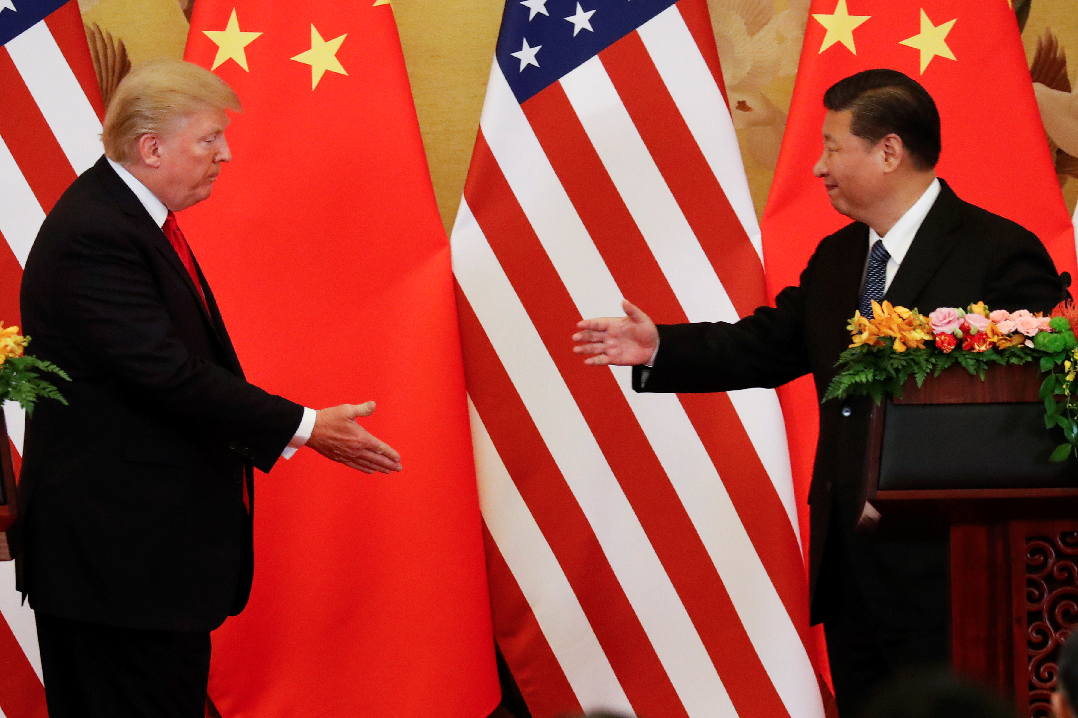 Trump suggests signing new trade deal with China