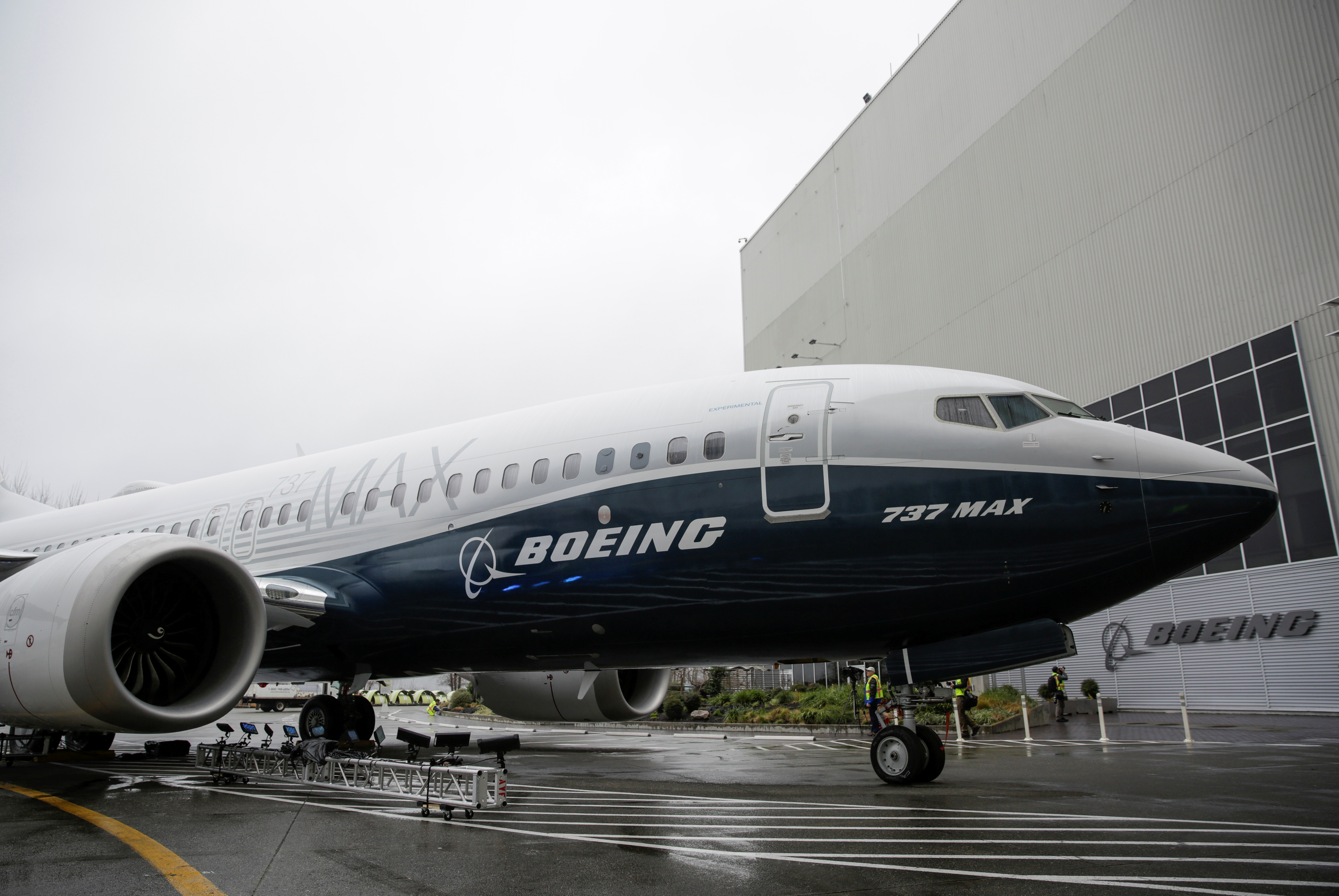 Boeing deliveries sink in first quarter after 737 MAX groundings