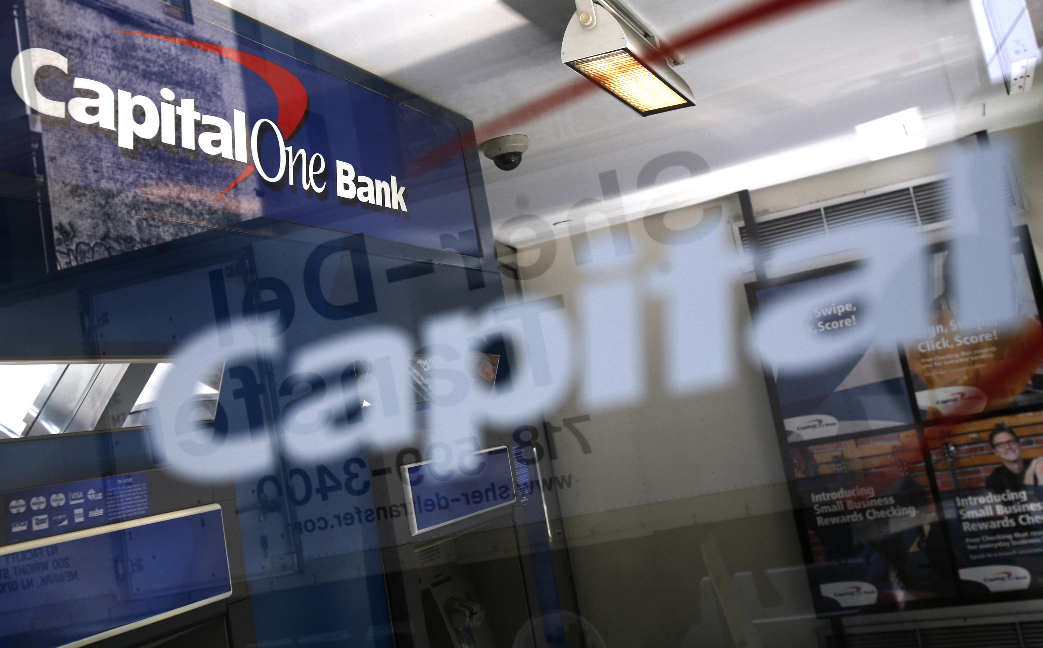 capital one credit card bank address