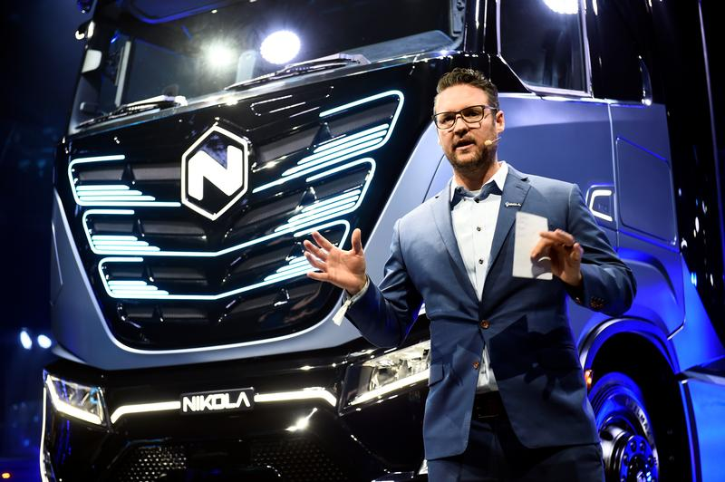 Founder of truck maker Nikola resigns after fraud allegations