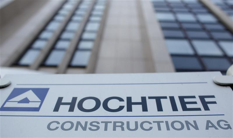 Germany's Hochtief confirms $20 billion bid for Spain's Abertis